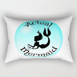 Actual Mermaid Rectangular Pillow