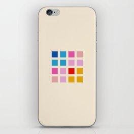 Retro Squares 01 iPhone Skin