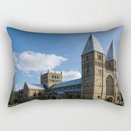 Southwell Minster - north west Rectangular Pillow