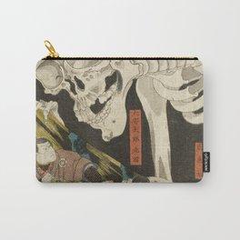 Utagawa Kuniyoshi  - Mitsukuni And The Skeleton Spectermid Carry-All Pouch