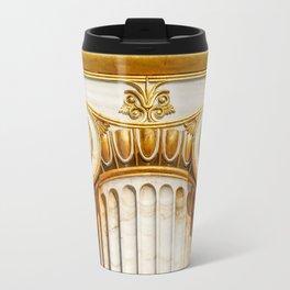 capital of Ionian column Travel Mug