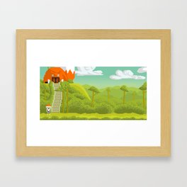 Journy Framed Art Print