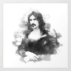 Zappa Lisa Art Print