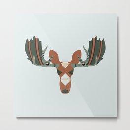 Moose Spirit Metal Print