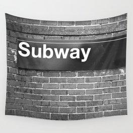 Subway Wall Tapestry