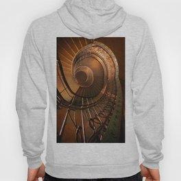 Golden spiral stairs Hoody