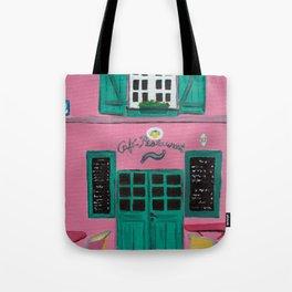 Cafe Maison Rose Tote Bag