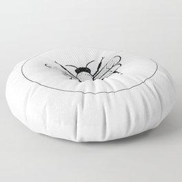 Simple Bee Floor Pillow