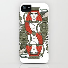 SINS Mentis - Lust Queen of Hearts iPhone Case