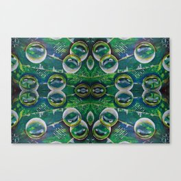 Abstract Bubble Art Canvas Print