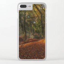 Through Ten Acre Wood Clear iPhone Case
