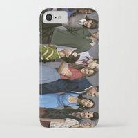 glee iPhone & iPod Cases featuring Glee by weepingwillow