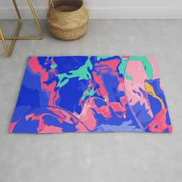 Make the colors pop Rug
