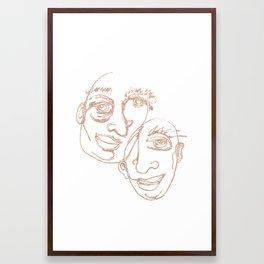 SPARKLE / 016 Framed Art Print