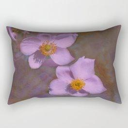 Petals in Lavender  Rectangular Pillow