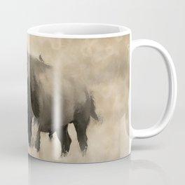 American Buffalo  -  Plains Bison Coffee Mug