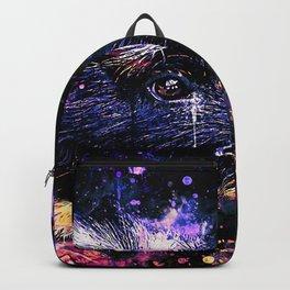 guinea pig colorful side portrait wsls Backpack