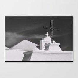 Crosses Canvas Print