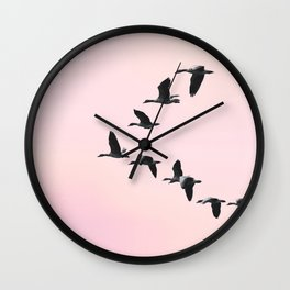 the journey °3 Wall Clock