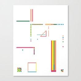 Trivia Canvas Print