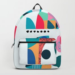 Mid Century Fish  Backpack