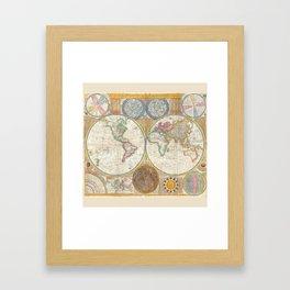 Map 1794 Laurie & Whittle Framed Art Print