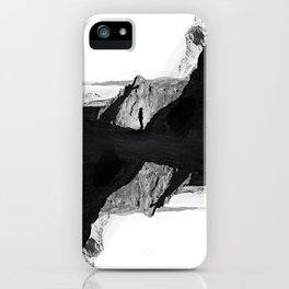 Man of isolation iPhone Case