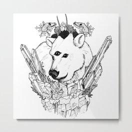 Bear of The North Metal Print