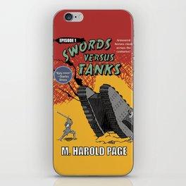 Swords Versus Tanks iPhone Skin