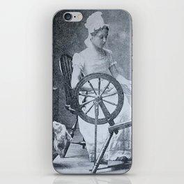 Spinning Wheel 1800s iPhone Skin