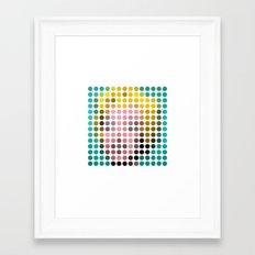 Marilyn Monroe Remixed Framed Art Print