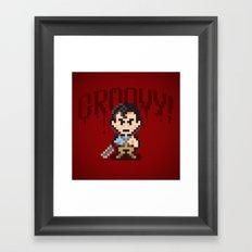 Evil Dead Pixels Framed Art Print