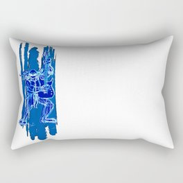 TMNT Rock: Leo Rectangular Pillow