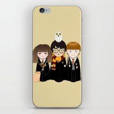 Kokeshis Hermi, Harry and Ron iPhone & iPod Skin
