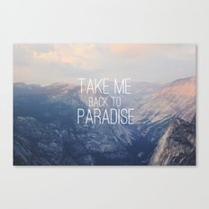 Yosemite Paradise  Canvas Print