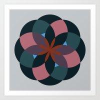 Douche Flower Art Print