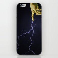 Finger of God iPhone & iPod Skin