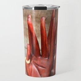 Wooden hands Travel Mug