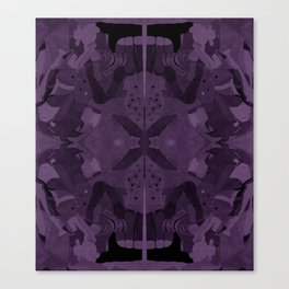 absence of purple Canvas Print
