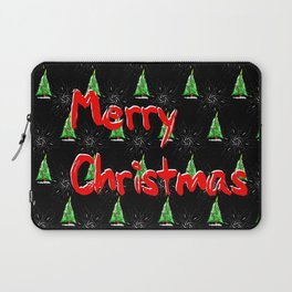Merry Christmas Pattern Laptop Sleeve
