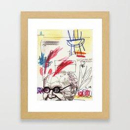 t w o m b l y  Framed Art Print