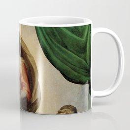 The Sistine Madonna Oil Painting by Raphael Coffee Mug