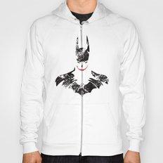 Bat joker Art Print Hoody