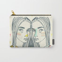Last Sunset Twins Carry-All Pouch