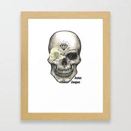 Skull T Shirt Framed Art Print