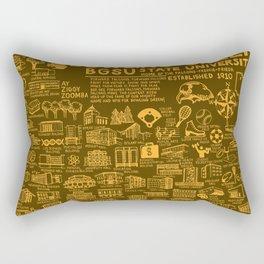 Bowling Green State University Map Rectangular Pillow