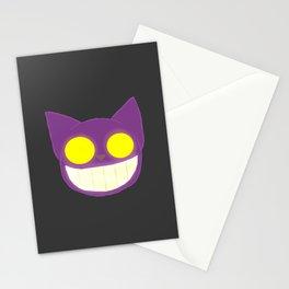 GhostKat Lineless head Stationery Cards