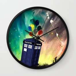Tardis Dr. WHO Wall Clock