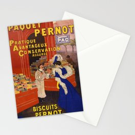 Vintage poster - Biscuits Pernot Stationery Cards