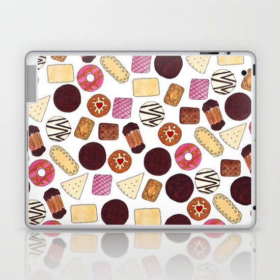 I love Biscuits Laptop & iPad Skin